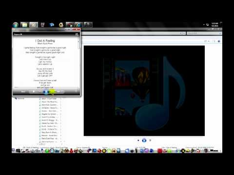 How to view Lyrics in Windows Media Player