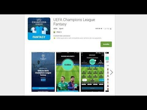 UCL Fantasy - UEFA, créons ensemble la meilleure équipe européenne