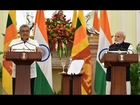 PM Modi and Sri Lankan President Gotabaya Rajapaksa joint statement