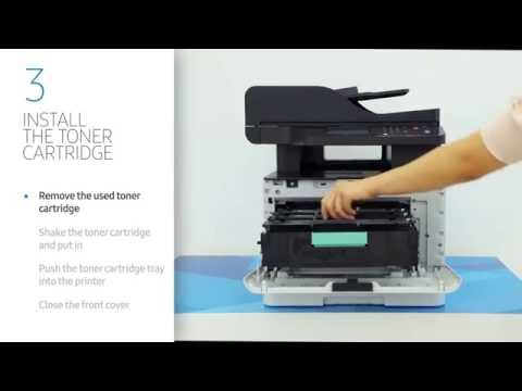 [Smart Tips] How to change the toner cartridge for C3060 series