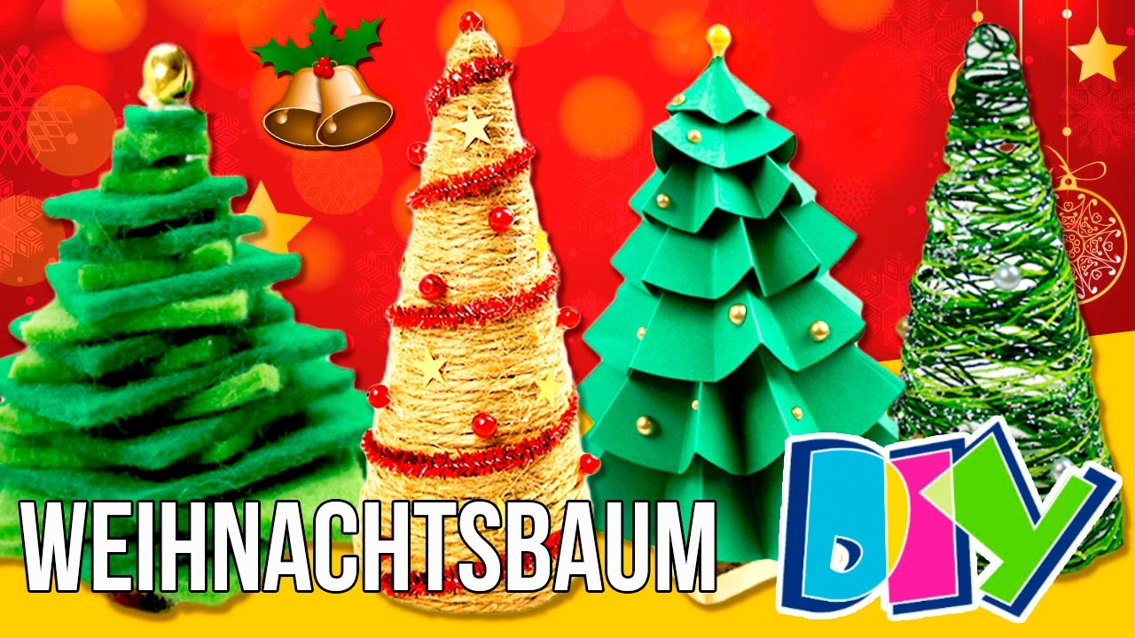 diy 5 mini weihnachtsbaum weihnachtshandwerk f r die. Black Bedroom Furniture Sets. Home Design Ideas