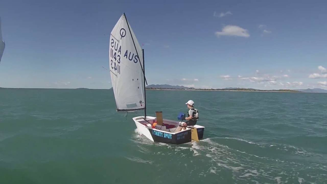 The Best Place in the World to learn to sail a Optimist Sailing Dinghy