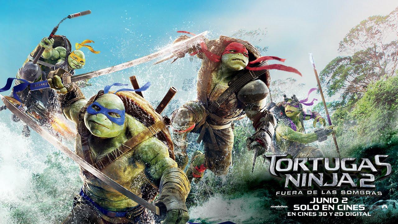 Tortugas Ninja 2 Anuncio Deslizándose Youtube
