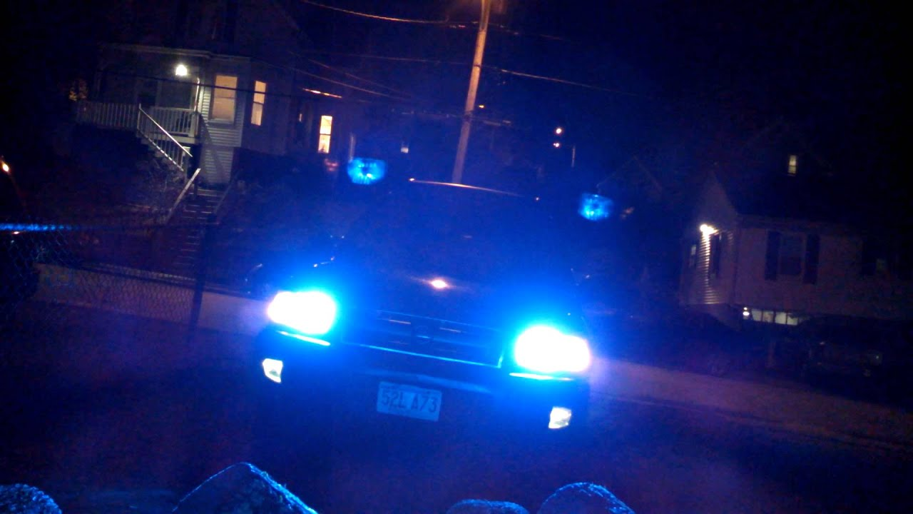 Blue Hid Headlights With Ledglow Led Lighting Youtube