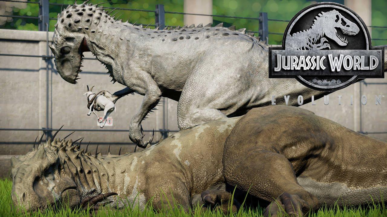 Indominus Rex || All Skins Showcased - Jurassic World Evolution