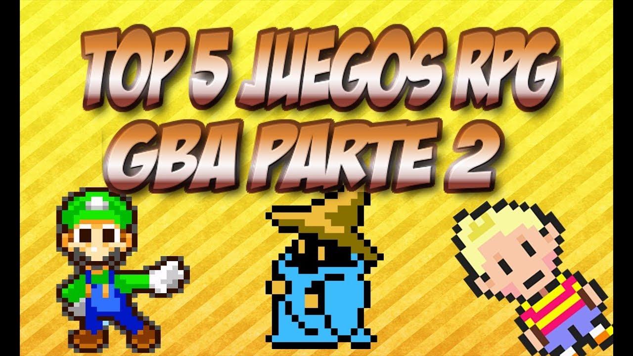 Top 5 Juegos Rpg Gba Parte 2 Links De Descarga Youtube