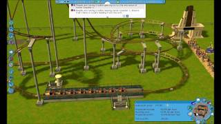 Playin RollerCoaster Tycoon 3 Platinum (Part 1) First Coaster!