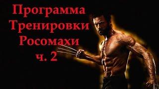 Хью Джекман - программа тренировки Росомахи. Тренировка бицепсов Hugh Jackman - workout Wolverine