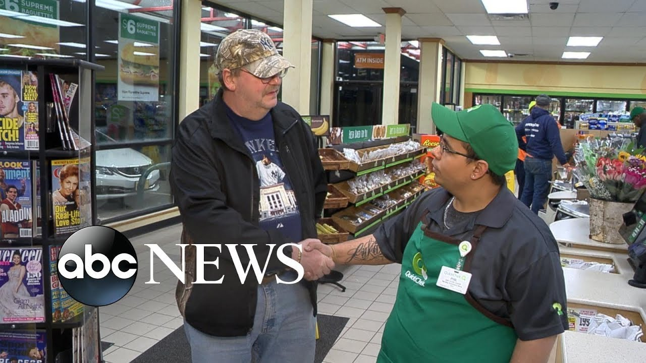 Download Cashier reunites with man who left $273M lotto ticket