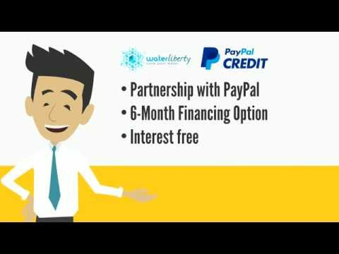 PayPal Credit Option With Water Liberty