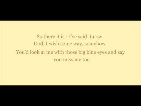Over You - Reba McEntire (Lyrics On Screen)