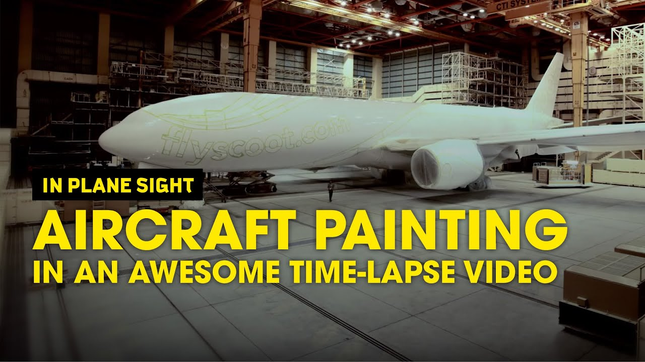 Modern Technology – How Airplanes are Painted? Inside Airplane Tech