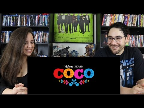 Thumbnail: Coco - Official Teaser Trailer Reaction / Review