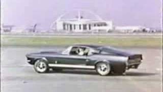 1967 Carroll Shelby Ford Mustang GT TV Commercial 67