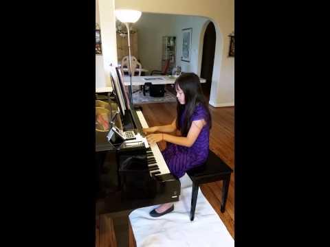 ChristiePhan  lst Place  WCoast Baptist Fine Arts piano competition Mar 2015