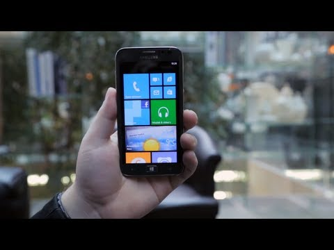 Samsung Ativ S Hands-on/preview