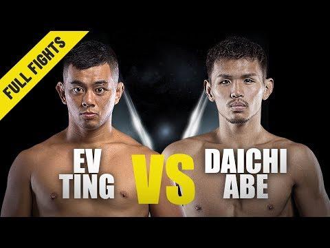 Ev Ting vs. Daichi Abe | ONE Full Fight | Homecoming Win | July 2019