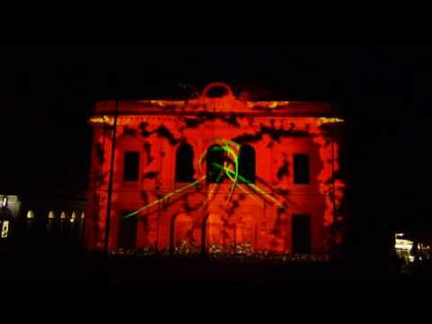 Video mapping - Kongresni trg, Ljubljana