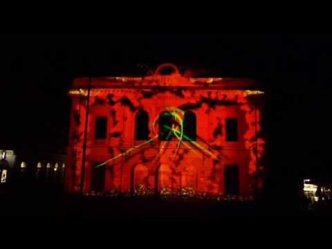 Video mapping - Kongresni trg, Ljubljana
