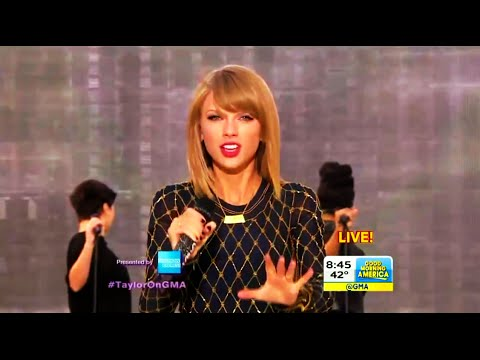 Taylor Swift - Out of the Woods (Live from GMA)