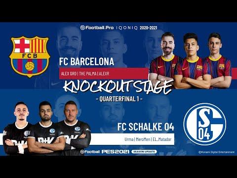 Quarterfinal 1 | FC Barcelona vs. FC Schalke 04 | Highlights eFootball.Pro IQONIQ KO Stage 2020-2021