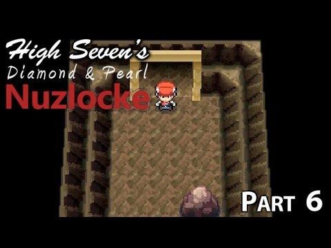 Pokemon Diamond & Pearl Nuzlocke Part 6 - Deep In The Mines
