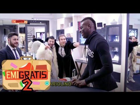 Emigratis 2 - Pio e Amedeo fanno shopping con Mario Balotelli