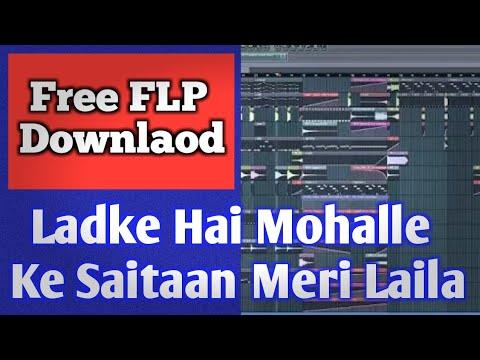 Ladke Hai Mohale Ke Saitan Meri Laila | Full hard Dholki Mix Flp | DJ Abhishek Raj