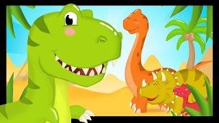 La chanson des dinosaures - Comptines pour les enfants - Titounis thumbnail