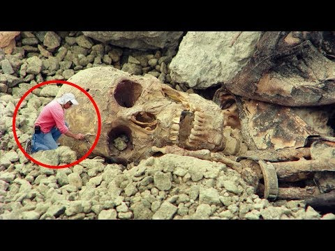 Most MYSTERIOUS Discoveries Of Giants!