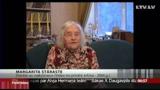 Margarita Stāraste 2. februārī svinēs savu 100. dzimšanas dienu.