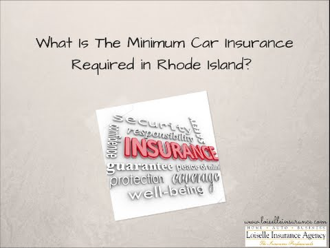 What is the Minimum Car Insurance Required in Rhode Island?