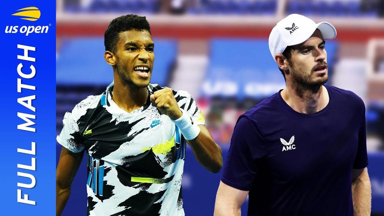 Felix Auger-Aliassime vs Andy Murray Full Match | US Open 2020 Round 2