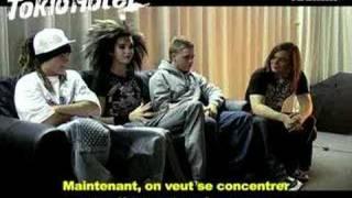 L'école est finie ! Interview Teemix de Tokio Hotel