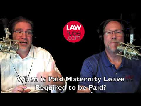 When Is Paid Maternity Leave Required?