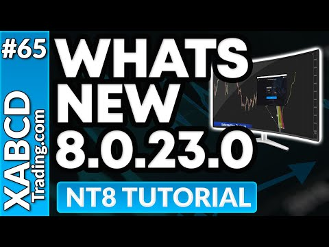 Whats New in NinjaTrader 8.0.23.0