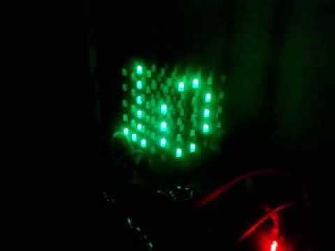 [DEMO] Led Cube 5x5x5 dùng 8051 (AT89C52)