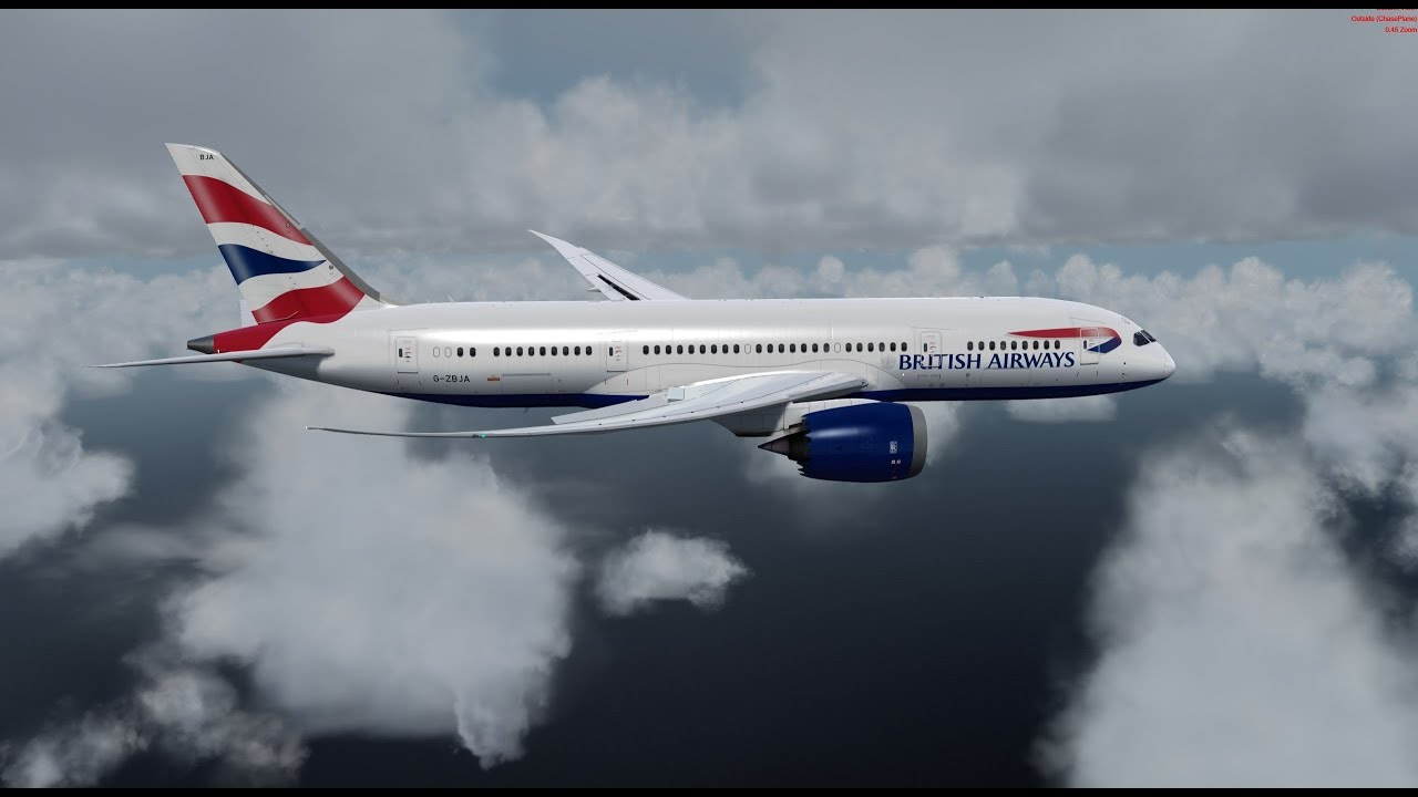 [P3dv4 3] Quality Wings 787 Full Flight with Multi Crew Experience by David  Herky