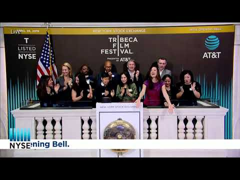 AT&T (NYSE: T) AND THE TRIBECA FILM FESTIVAL RING THE OPENING BELL®