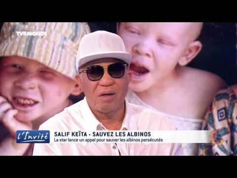 """Salif KEITA : """"Cessez de tuer les albinos"""""""