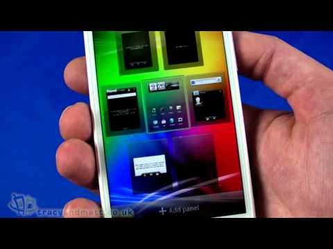 HTC Sensation XL unboxing video