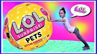 Лол Золотой Шар! Куклы Лол! lol Surprise! lol Pets Surprise  Королевские Питомцы!  lol surprise