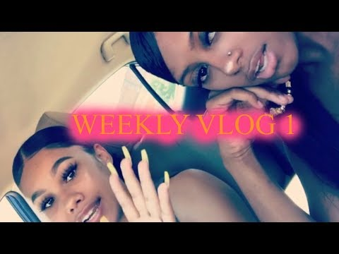 ISSA VLOG | Girls Day! Nails, Hair Store, BRAZILIAN Wax