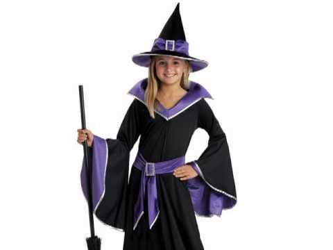 sc 1 st  YouTube & Incantasia Glamour Witch Child Costume - YouTube