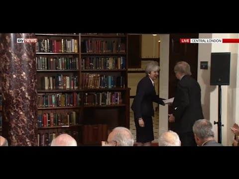 Q&A: Theresa May Latest GE2017 Campaign Speech from Central London (05Jun17)