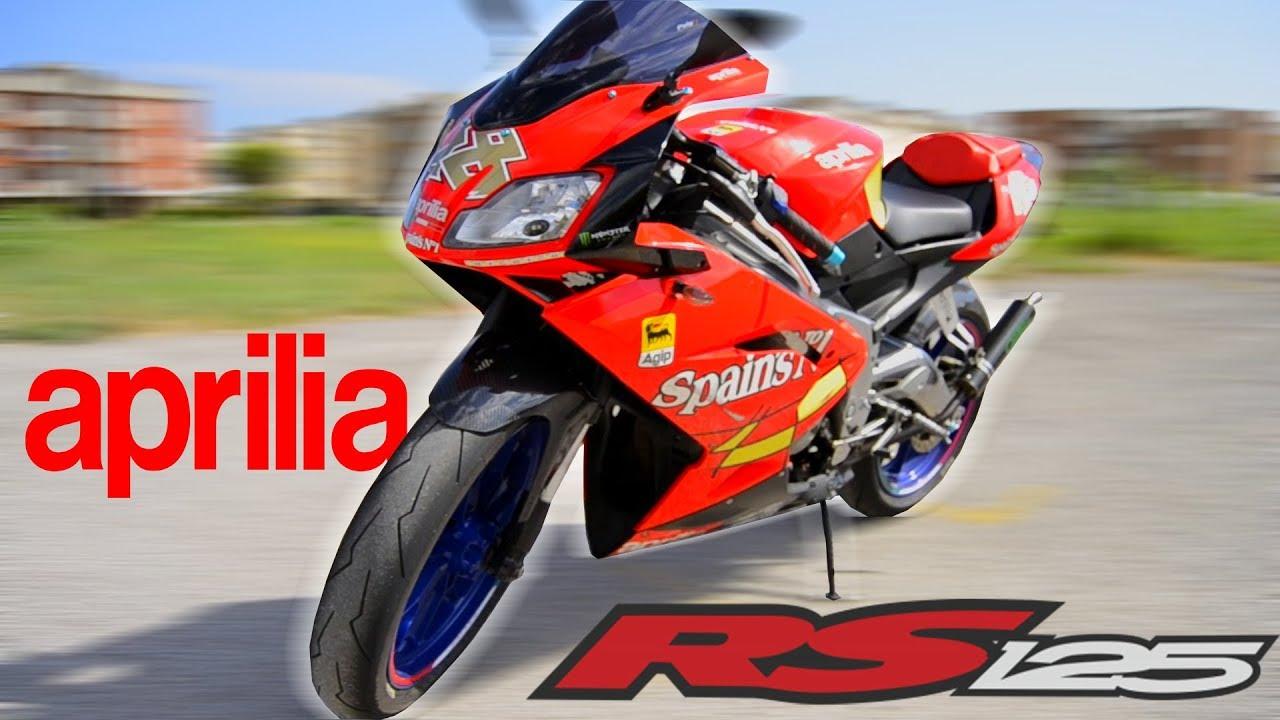 aprilia rs 125 2t 2007 test ride youtube. Black Bedroom Furniture Sets. Home Design Ideas