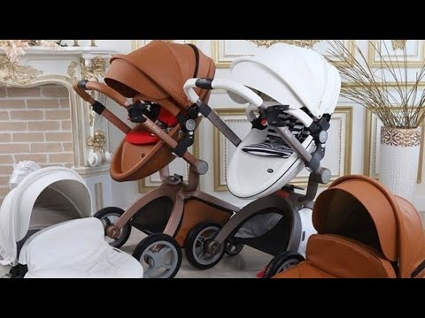 baby-stroller-hot-mom-brown-2in1