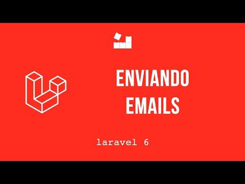 Vídeo no Youtube: Laravel 6 - Enviando emails #laravel #php