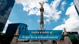 El monumento está listo para su reapertura para las personas que quieran subir, aseguró la jefa de Gobierno de la Ciudad de México, Claudia Sheinbaum Pardo