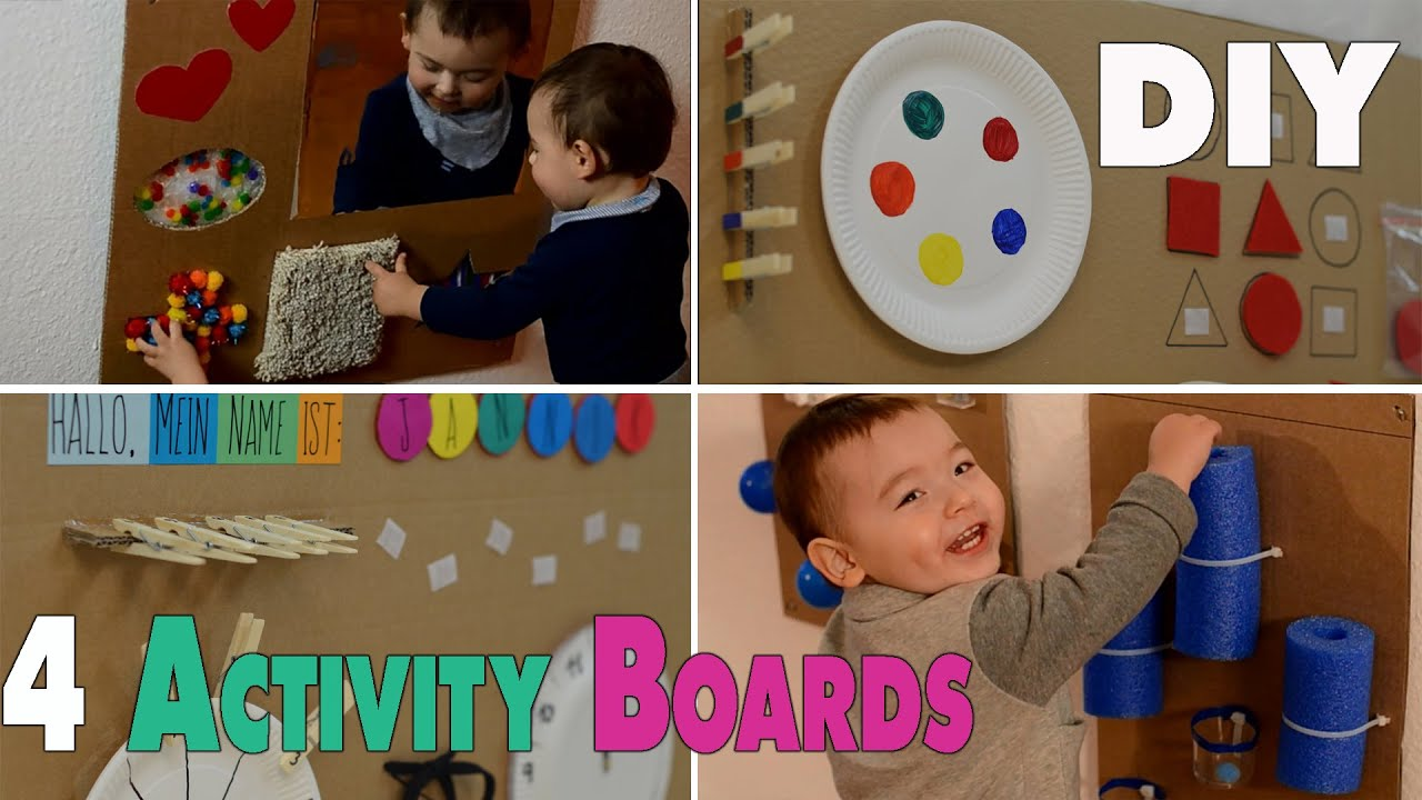 4 diy activity boards for babys and toddlers mamiblock youtube solutioingenieria Gallery